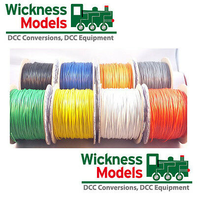 Dcc Decoder Wire And Layout Wire Choose Colour And Quantity