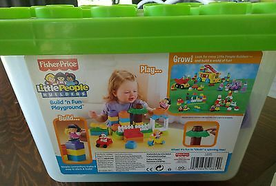 Fisher - Price Little People Builders Build ' n Fun Playground