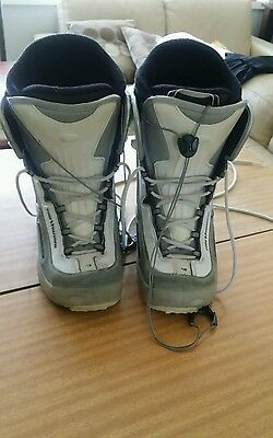 Used Northwave Gray & White Snowboard Boot Mens Size UMS 10