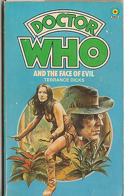 Dr Doctor Who and the Face of Evil 1st edn. VGC minus. FAB! Target books.