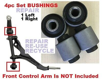 4pc Bushings fit Honda Civic 92-95 Civic Del Sol 93-97 Front Lower Control Arms