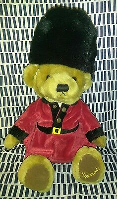 "Harrods of Knightsbridge plush teddy bear Royal Palace Guard 13"" Stuffed Animal"