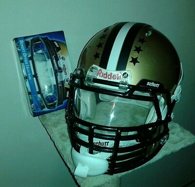 Riddell revolution american football helmet large visor chinstrap big grill face