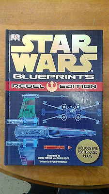 RARE complete with  all 5 blueprints !!!!   Star Wars blueprints Rebel Edition