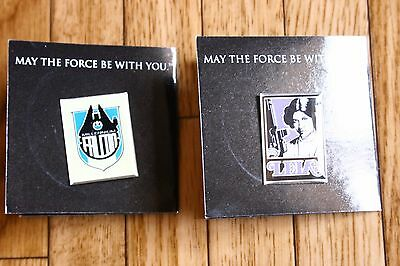 Star Wars Pins Set Leia Falcon Toy May the Force be with you
