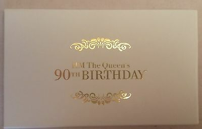The Queen's 90th Birthday Limited Edition Prestige Booklet