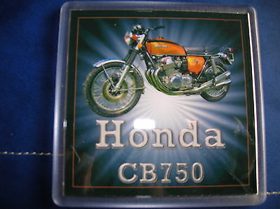 COLLECTABLE VINTAGE HONDA CB750 FOUR SOHC COASTER MOTORCYCLE 70S 60s K6 K7 F1 F2