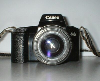 Vintage Canon EOS 1000F with Sigma 35-80mm Lens