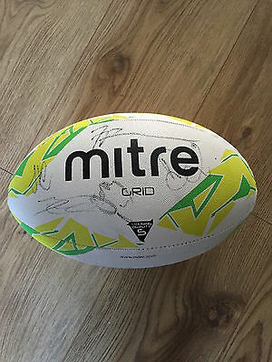 Wigan Warriors Signed Rugby League Ball 2016 Shirt Great For Christmas Charnley