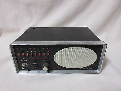 Vintage Electra Bearcat 3 police fire emergency scanner 8 channel w/ 8 crystals