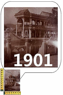China PEKING Real Original Historic Photographie about 1901 Sommer Palast