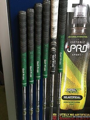 Set Of 4-9 S300 Iron Shafts With Multicompound Grips
