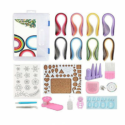 Quilling Paper Tool Set Handmade Craft DIY Material Package with Storage Box
