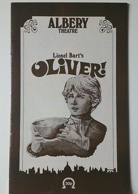 "Vintage Theatre Programme 1979 - Albery Theatre London ""oliver!""/roy Dotrice"