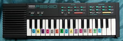 Yamaha Portasound PSS-30 Vintage Electronic Keyboard Boxed with Manual