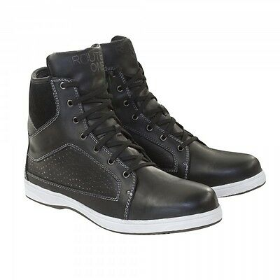 Motorcycle Route One Leroy Boots WP - Black