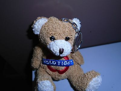 London Hold Tight Keel toy teddy keyring (new) No reserve