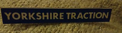 yorkshire traction bus badge