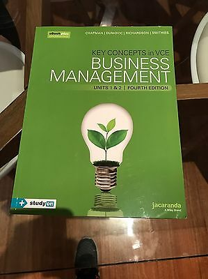 Key Concepts In VCE Business Management Units 1&2 4th Edition