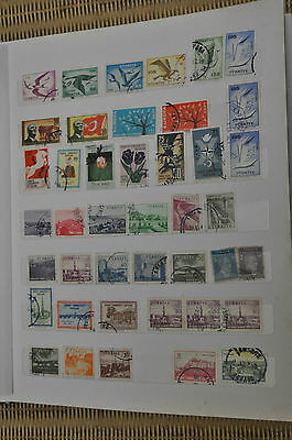 Mixed Lot Of Turkey Stamps 145 In Total