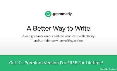 Grammarly Premium Account for lifetime
