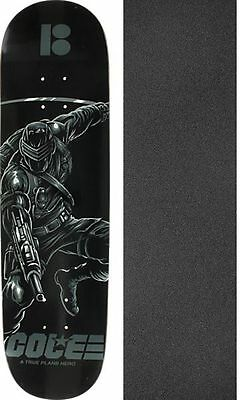 Plan B Skateboards Darkness Deck with Jessup Grip Tape - Bundle of 2 items