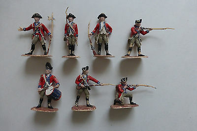 Accurate Figures Co AWI British Infantry 1:32 Plastic Soldiers