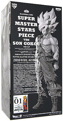 Dragon Ball Z Super Master Stars Piece Goku Gokou 1.5 The Brush Figure Figura