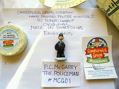 camberwick green miniature pewter figurine P,C, McGarry the policeman brand new.