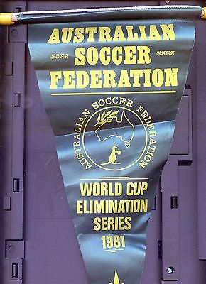 1981 Australian Soccer Federation World Cup Elimination Series Pennant
