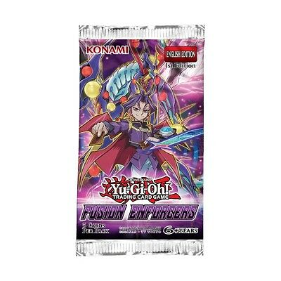 5x Yu-Gi-Oh! Fusion Enforcers Booster Pack (5 sealed packs)