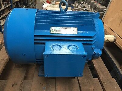 GEC 11kW Electric Motor 3-Phase AC 4-Pole B3 Foot 160 Frame 1440RPM D160M