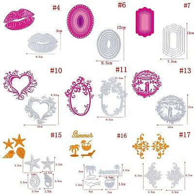 HOT Metal Cutting Dies Stencil For DIY Scrapbooking Embossing Paper Cards Decor