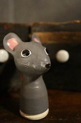 c.1950 Porcelain dolls head in the form of a Mouse