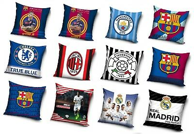 "FOOTBALL CLUB LICENSED CUSHION COVERS 16"" x 16"" (40cm x 40cm)"
