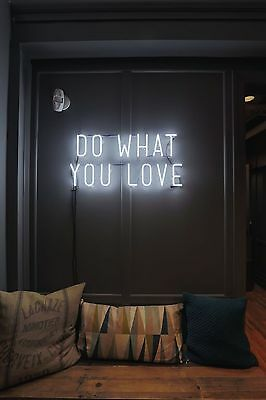 """New Do What You Love Wall Decor Neon Sign 20'x16"""" Ship From USA"""
