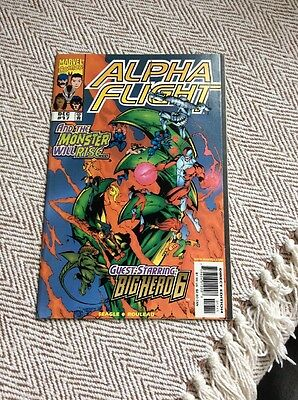 ALPHA FLIGHT Vol.2, #17 Boarded & Sleeved COMBINED POSTAGE OFFERED