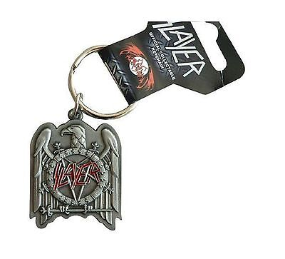 Slayer Keyring Keychain Eagle band new Official metal One Size