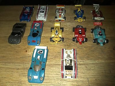 Vintage Lot Of Ho Slot Cars, Gplus And Bodies.