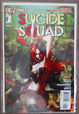 Suicide Squad #1 (New 52 first print)