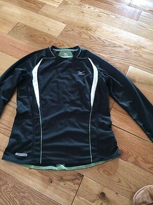 Ladies Mizuno Running Long Sleeved Top Size Small
