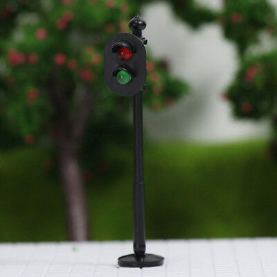 JTD765RG 5pcs Traffic Signals OO Scale Crossing LED Crosswalk Signal Road Street