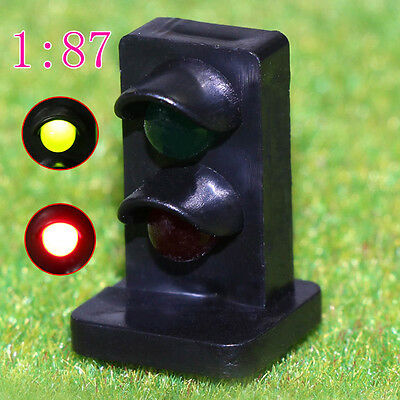 JTD871GR 5PCS HO scale LEDs made Dwarf Signals for Railway signal 2 Aspects