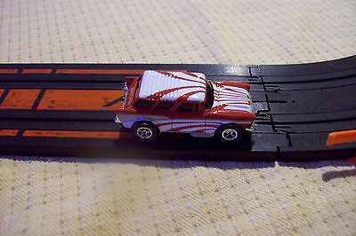 New AFX 57 Chevy Star Burt Nomad Slot Car With Case