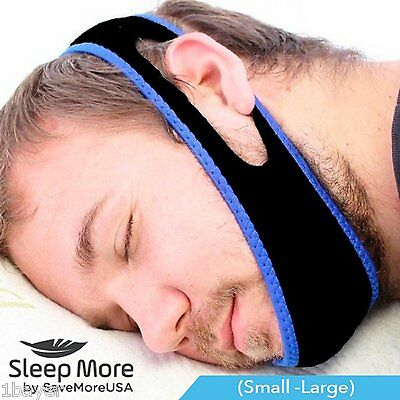 Patented Stop Anti Snoring Jaw Strap Health Personal Sleep Aid Solution