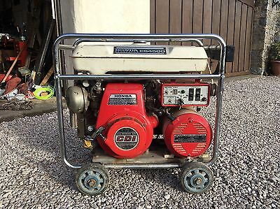 Honda ES4500 Petrol 4.5kva Electric Start Generator