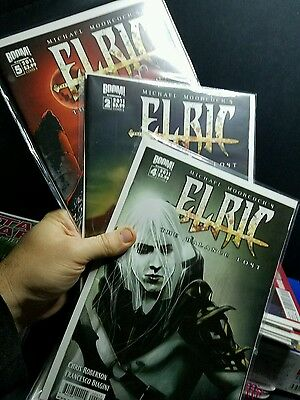 Elric The Ballance Lost, 3 Comics,  Issues 2, 4, 5. 2011. New. Wicked.