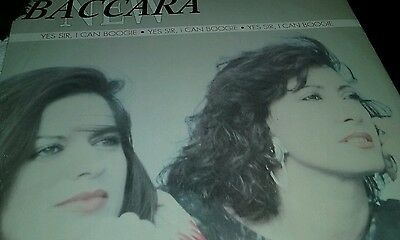 """Baccara 12"""" Single Vinyl.yes Sir I Can Boogie ."""