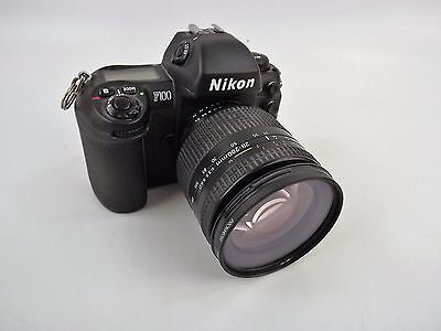 Nikon F100 35mm SLR Camera with Promaster 72mm Skylight 1A Lens Used