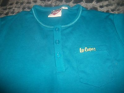 "Boys ""Lee Cooper"" Short Sleeved Top,  Age 13 years  new"